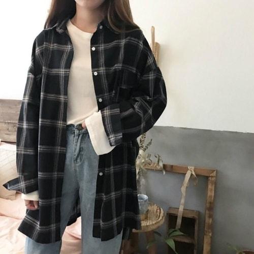 Áo oversize cùng culottes đẹp