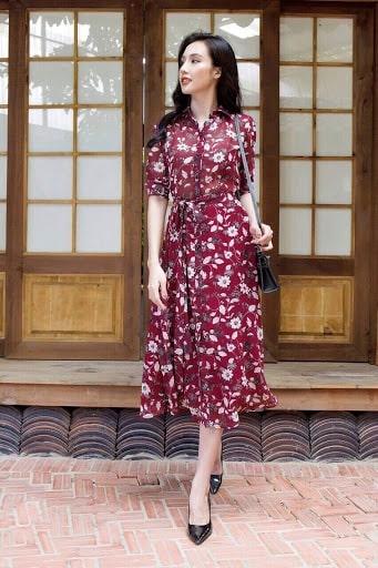 Những mẫu váy đầm sơ mi liền đẹp được săn đón nhất năm